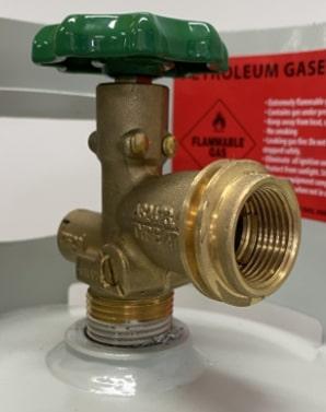 New Type 27 (LCC27) LPG valve